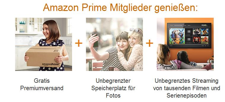 Amazon Prime erweitert | Amazon Prime Photo