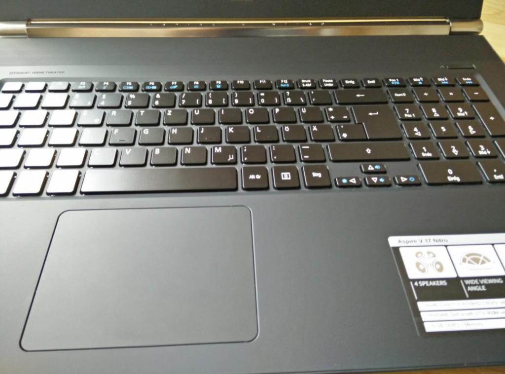 Acer Aspire N7-791G-79KG | Draufsicht