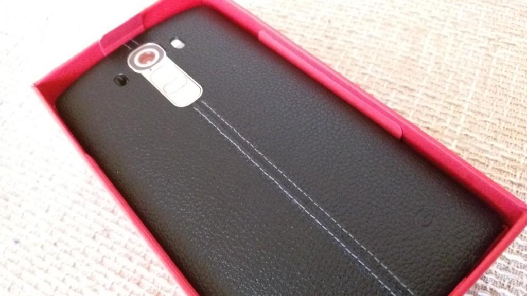 LG G4 | hochwertige Lederrückseite