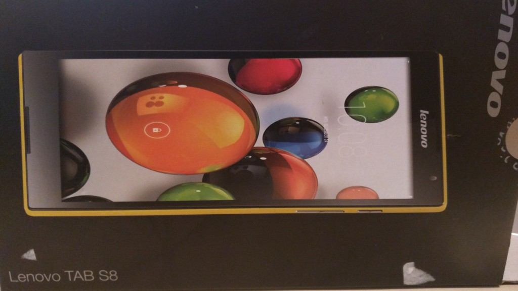 Lenovo Tab S8 | Verpackung