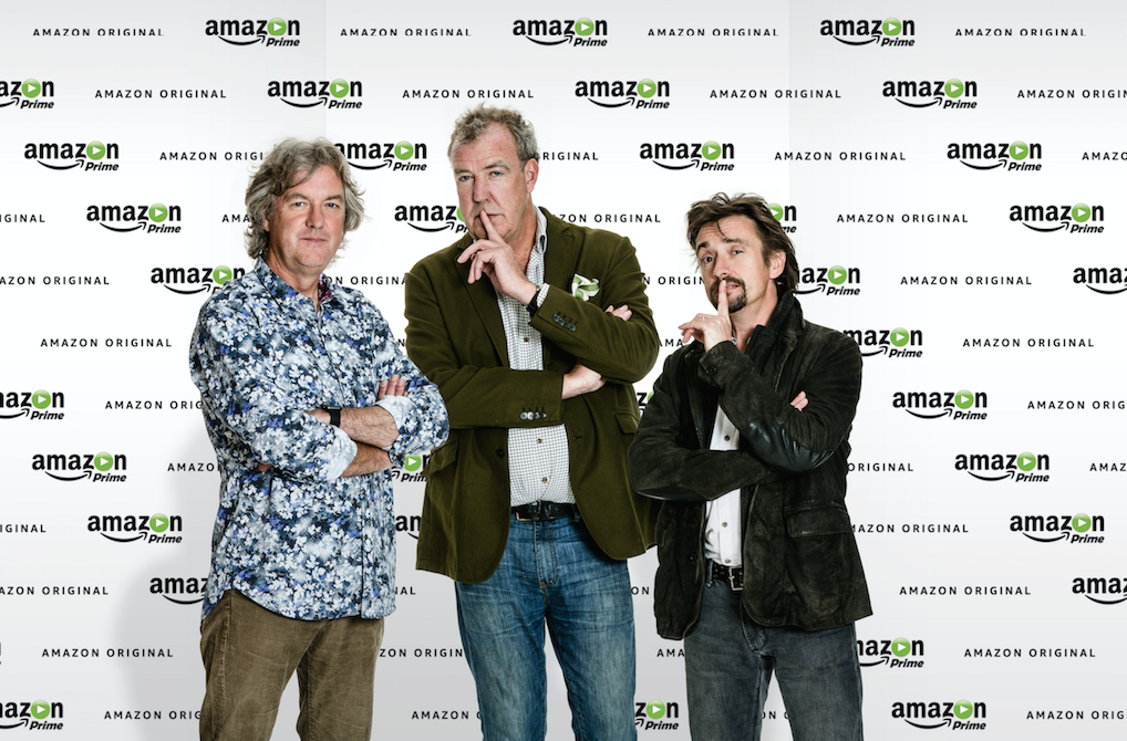 Jeremy Clarkson, Richard Hammond und James May zukünftig bei Amazon Prime