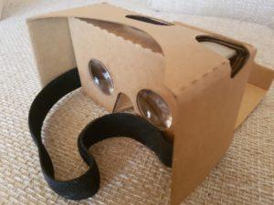 Magic Cardboard | Linsen und Kopfbefestigung
