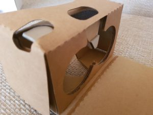 Magic Cardboard | Smartphoneeinsatz