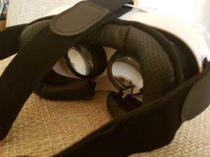HooToo 3D VR Box | bequeme Polsterung und Kopfbefestigung