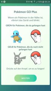 Pokemon Go Plus | Anzeige von Pokemon in der Nähe